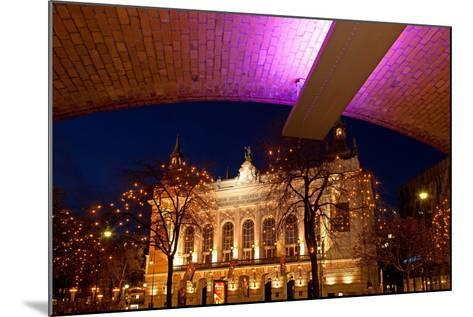 Germany, Berlin, Kudamm, Theater Des Westens, Evening-Catharina Lux-Mounted Photographic Print