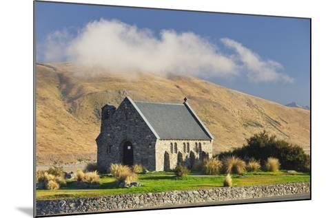 Good Shephard Church, Chapel, Lake Tekapo, Canterbury, South Island, New Zealand-Rainer Mirau-Mounted Photographic Print
