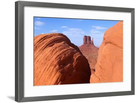 USA, Monument Valley-Catharina Lux-Framed Art Print