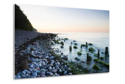 Germany, Mecklenburg-Western Pomerania, Island Reprimands, Baltic Sea Beach, Sunset-Frank Lukasseck-Metal Print
