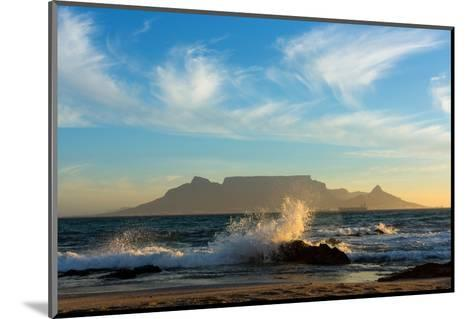 Cape Town, Table Mountain, Coast-Catharina Lux-Mounted Photographic Print