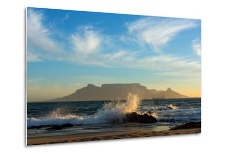 Cape Town, Table Mountain, Coast-Catharina Lux-Metal Print