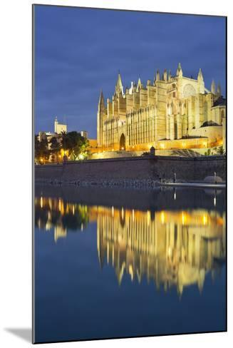 Spain, Majorca, Catedral De Palma De Majorca, Water-Rainer Mirau-Mounted Photographic Print