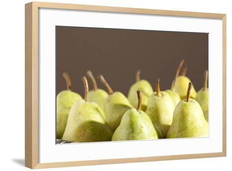 Pears, Ripe, Eatable-Nikky Maier-Framed Art Print