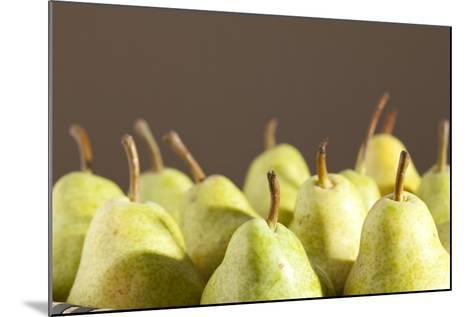Pears, Ripe, Eatable-Nikky Maier-Mounted Photographic Print