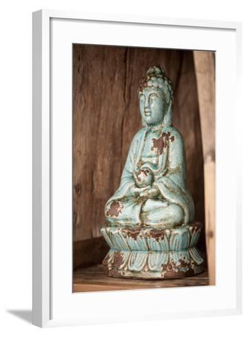 Buddha Statue-Nikky Maier-Framed Art Print