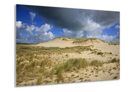 Dark Clouds over the Dune Landscape on the Big Drifting Dune at Listland-Uwe Steffens-Metal Print