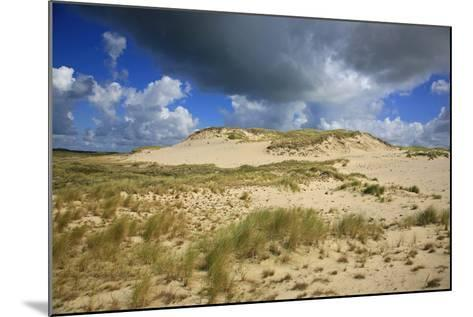 Dark Clouds over the Dune Landscape on the Big Drifting Dune at Listland-Uwe Steffens-Mounted Photographic Print