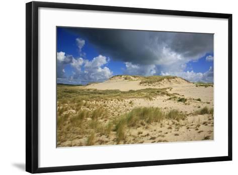 Dark Clouds over the Dune Landscape on the Big Drifting Dune at Listland-Uwe Steffens-Framed Art Print