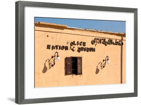Egypt, Cairo, Citadel, Police Museum, Lettering-Catharina Lux-Framed Art Print