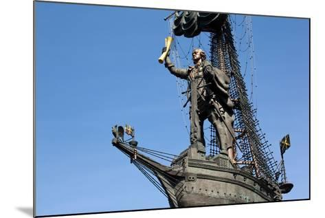 Moscow, Monumental Monument 'Czar Peter the Great'-Catharina Lux-Mounted Photographic Print