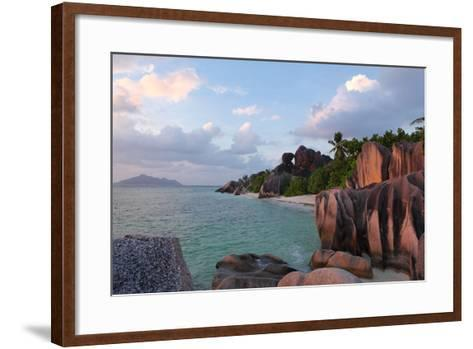 The Seychelles, La Digue, Anse Source D' Argent-Catharina Lux-Framed Art Print