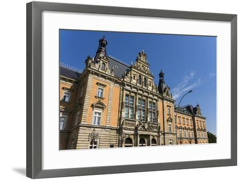 Hamburg, Criminal Justice Building-Catharina Lux-Framed Art Print