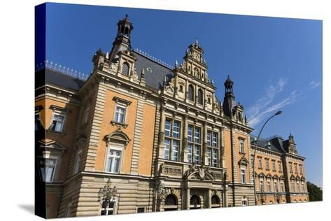 Hamburg, Criminal Justice Building-Catharina Lux-Stretched Canvas Print