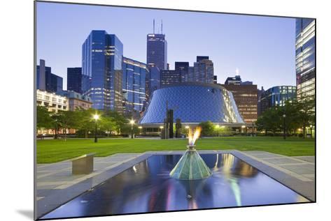 Canada, Ontario, Toronto, Centre, Roy Thompson Hall-Rainer Mirau-Mounted Photographic Print