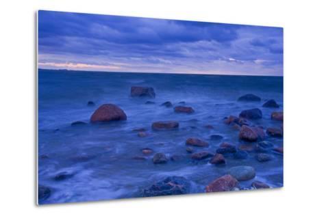 Fehmarn Sound, the Baltic Sea, Evening Mood-Thomas Ebelt-Metal Print