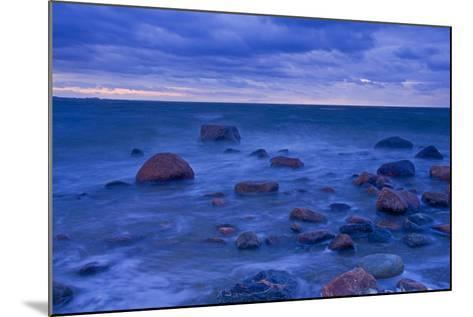 Fehmarn Sound, the Baltic Sea, Evening Mood-Thomas Ebelt-Mounted Photographic Print