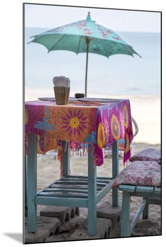 Piece of Furniture, Screen, Brightly, Beach Bar, Thailand, Beach-Andrea Haase-Mounted Photographic Print