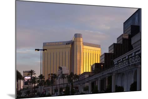 USA, Las Vegas, Hotel Mandala Bay, Evening Light-Catharina Lux-Mounted Photographic Print