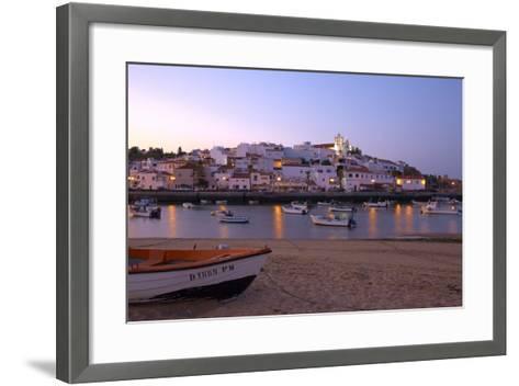 Portugal, Algarve, Portimao, Ferragudo, Townscape, Morning Mood-Chris Seba-Framed Art Print