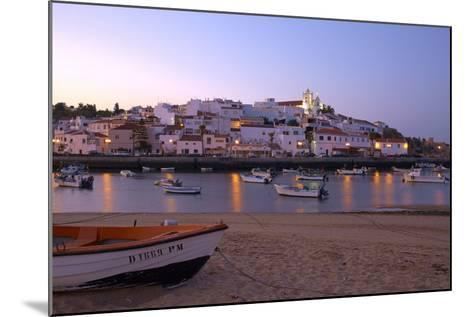 Portugal, Algarve, Portimao, Ferragudo, Townscape, Morning Mood-Chris Seba-Mounted Photographic Print