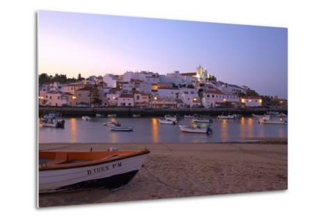 Portugal, Algarve, Portimao, Ferragudo, Townscape, Morning Mood-Chris Seba-Metal Print