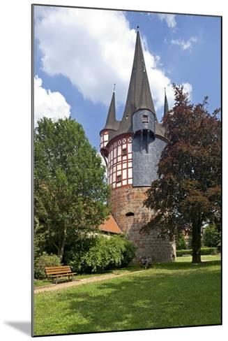 Germany, Hessen, Northern Hessen, Neustadt, Fortified Tower, Middle Ages, Junker Hansen Tower-Chris Seba-Mounted Photographic Print