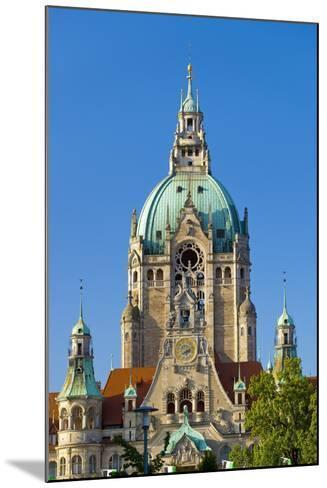 Germany, Lower Saxony, Hannover, Friedrichswall, New City Hall, City Hall Tower-Chris Seba-Mounted Photographic Print