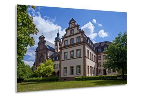 Germany, Rhineland-Palatinate, the Saar, the Moselle, Konz, Monastery of Karthaus-Chris Seba-Metal Print