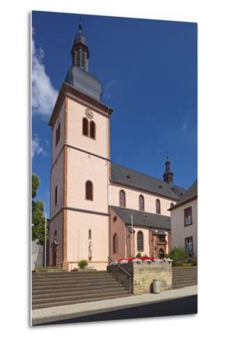 Germany, Rhineland-Palatinate, Eifel, Wittlich, Parish Church Saint Markus-Chris Seba-Metal Print