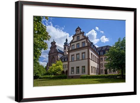 Germany, Rhineland-Palatinate, the Saar, the Moselle, Konz, Monastery of Karthaus-Chris Seba-Framed Art Print