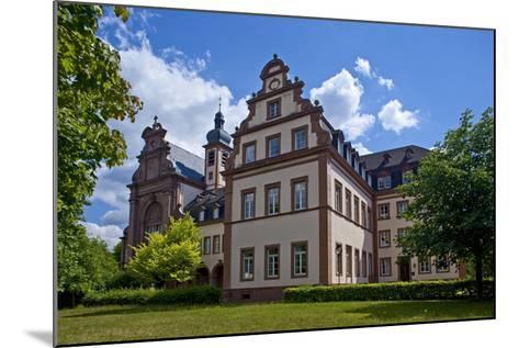 Germany, Rhineland-Palatinate, the Saar, the Moselle, Konz, Monastery of Karthaus-Chris Seba-Mounted Photographic Print