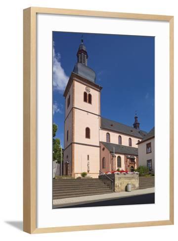 Germany, Rhineland-Palatinate, Eifel, Wittlich, Parish Church Saint Markus-Chris Seba-Framed Art Print