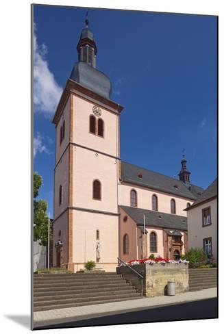 Germany, Rhineland-Palatinate, Eifel, Wittlich, Parish Church Saint Markus-Chris Seba-Mounted Photographic Print