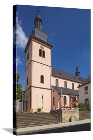 Germany, Rhineland-Palatinate, Eifel, Wittlich, Parish Church Saint Markus-Chris Seba-Stretched Canvas Print