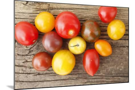 Tomatoes, Wooden Underground-Nikky-Mounted Photographic Print
