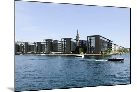 Modern Architecture in the District Christianshavn, Copenhagen, Denmark, Scandinavia-Axel Schmies-Mounted Photographic Print