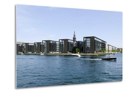 Modern Architecture in the District Christianshavn, Copenhagen, Denmark, Scandinavia-Axel Schmies-Metal Print