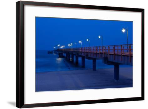 Usedom, Baltic Sea Spa Bansin, Pier-Catharina Lux-Framed Art Print