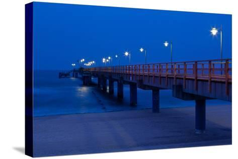 Usedom, Baltic Sea Spa Bansin, Pier-Catharina Lux-Stretched Canvas Print