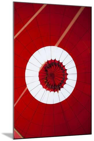 Inside View of a Hot Air Balloon During Landing-Harry Marx-Mounted Photographic Print