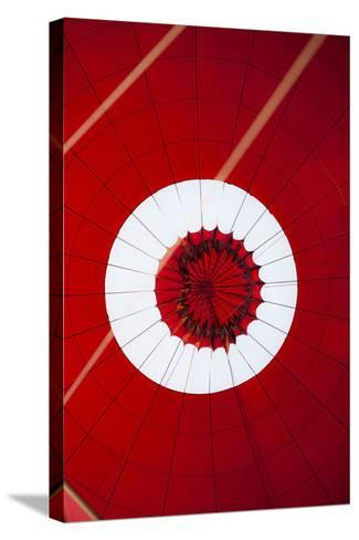 Inside View of a Hot Air Balloon During Landing-Harry Marx-Stretched Canvas Print
