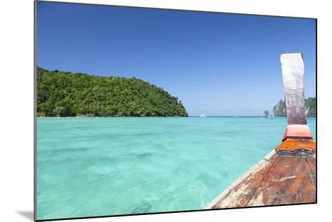 Longtail Boat Cruise at Koh Phi Phi, Thailand, Andaman Sea-Harry Marx-Mounted Photographic Print