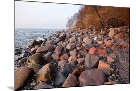 The Baltic Sea, National Park Jasmund, Stony Beach-Catharina Lux-Mounted Photographic Print