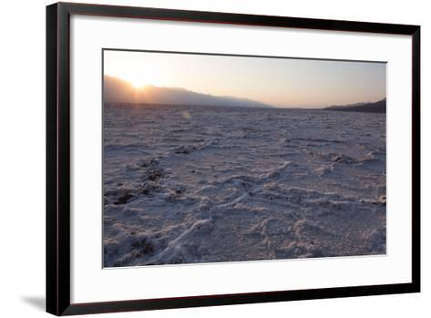USA, Death Valley National Park, Bad Water Basin-Catharina Lux-Framed Art Print