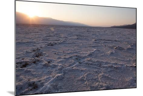 USA, Death Valley National Park, Bad Water Basin-Catharina Lux-Mounted Photographic Print