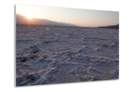 USA, Death Valley National Park, Bad Water Basin-Catharina Lux-Metal Print