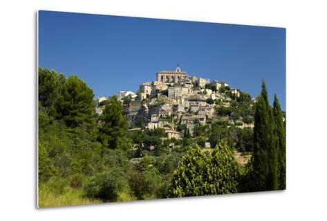 Europe, South of France, Provence, Gordes, Townscape-Chris Seba-Metal Print