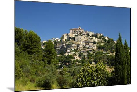 Europe, South of France, Provence, Gordes, Townscape-Chris Seba-Mounted Photographic Print