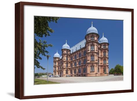 Germany, Baden-WŸrttemberg, Karlsruhe, Castle Gottesaue-Chris Seba-Framed Art Print